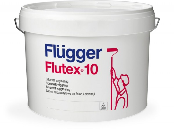Краска для стен и потолков Flutex 10