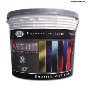 Декоративная краска с песком Zephyro Silver