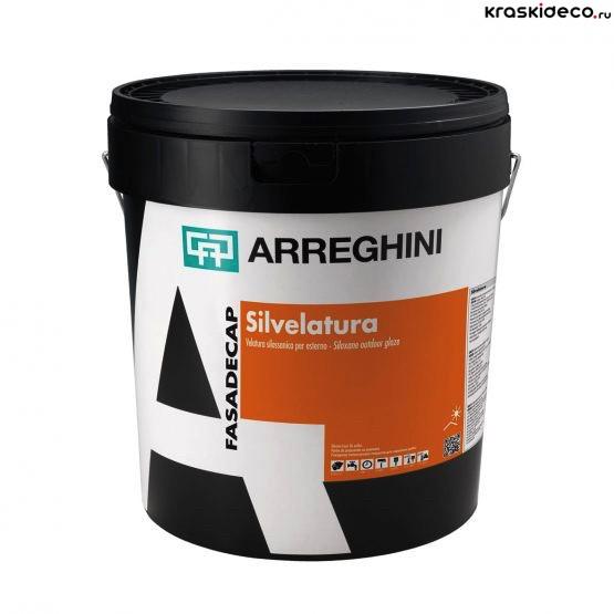 Краска для декоративной штукатурки Cap Arreghini