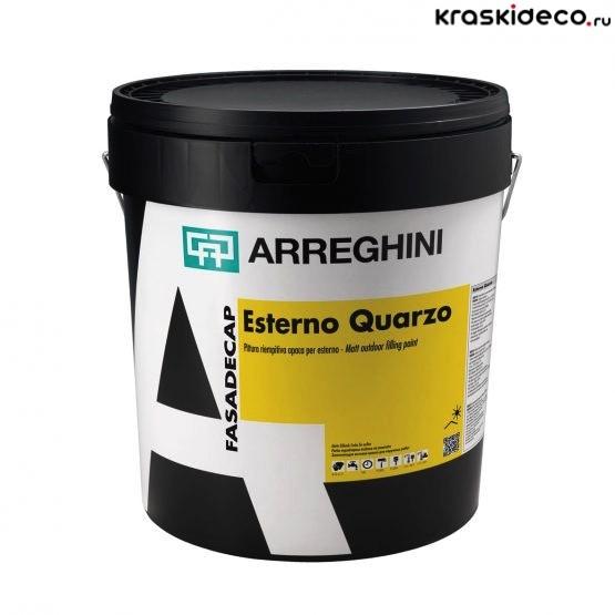 Фасадная краска Esterno Quarzo