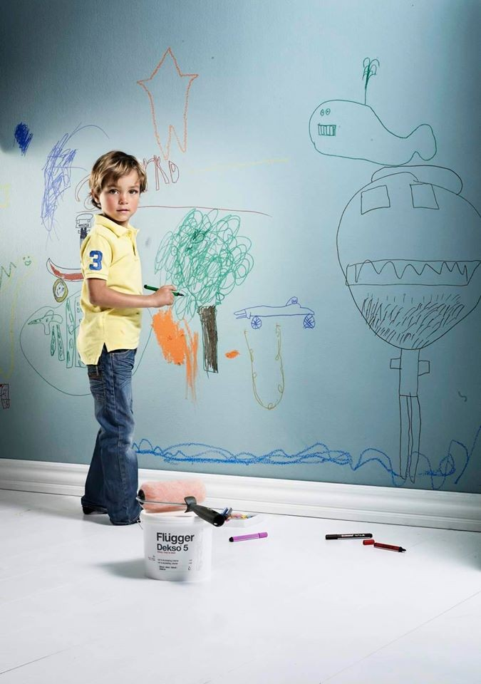 Моющаяся краска для стен Flugger Dekso 5