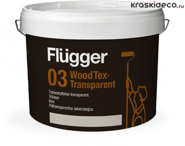 Flugger Wood Tex Transparent