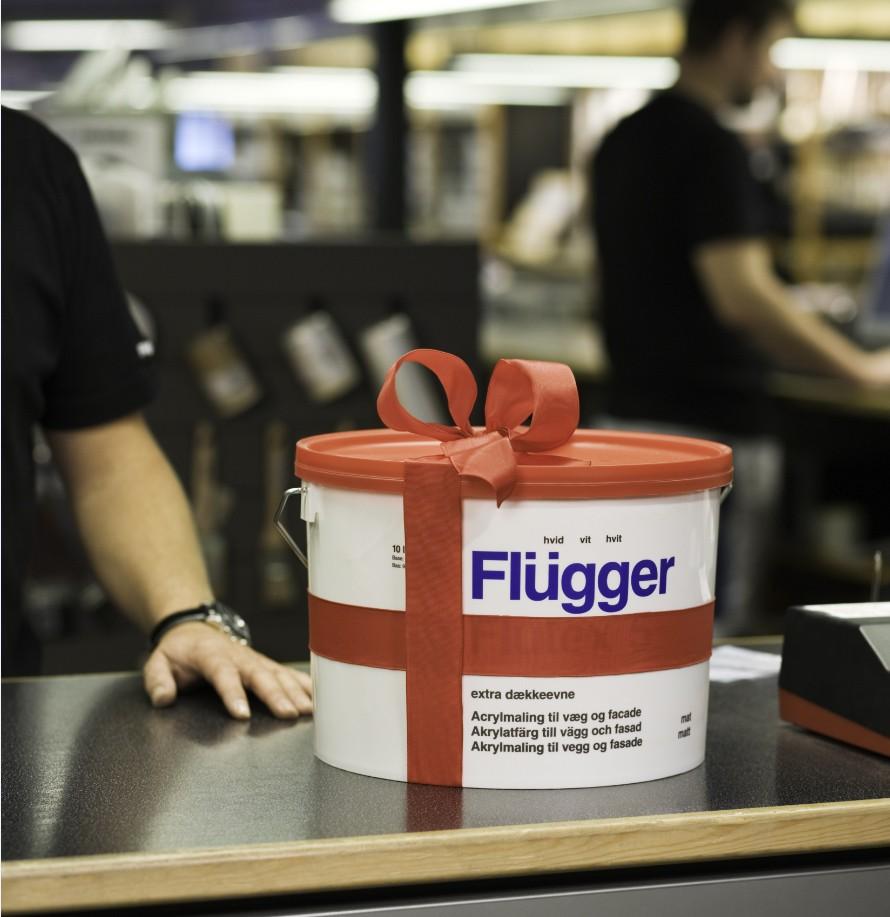 Матовая краска Flugger Flutex 5