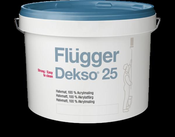 Краска для стен и потолков Flugger Dekso 25